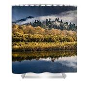 Autumn On The Klamath 6 Shower Curtain