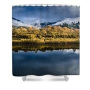 Autumn On The Klamath 7 Shower Curtain