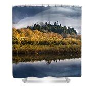 Autumn On The Klamath 9 Shower Curtain
