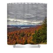 Autumn On Top Of Mccauley Mountain Shower Curtain