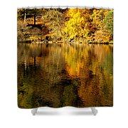 Autumn On Ullswater Shower Curtain