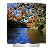 Autumn Paddle On The Quinnebaug  Shower Curtain