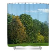 Autumn Panorama 3 Shower Curtain
