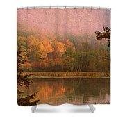 Autumn Paper Shower Curtain