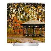 Autumn Paradise Shower Curtain