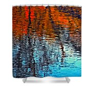 Autumn Patterns Shower Curtain