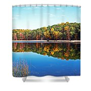 Autumn Reflection Shower Curtain