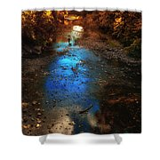 Autumn Reflections On The Tributary Shower Curtain