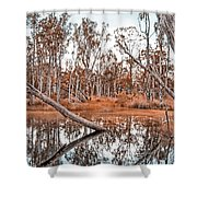 Autumn Reflections V2 Shower Curtain