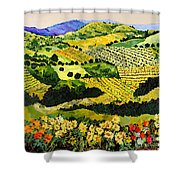 Autumn Remembered Shower Curtain