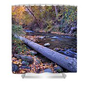 Genil River Shower Curtain