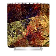 Autumn Road Shower Curtain by Andee Design
