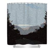 Autumn Roads Shower Curtain