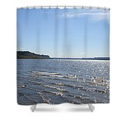 Autumn Shore Shower Curtain