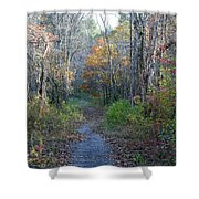 Autumn Silence No.2 Shower Curtain