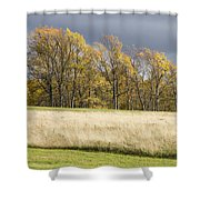 Autumn Skies Canaan Valley Of West Virginia Shower Curtain