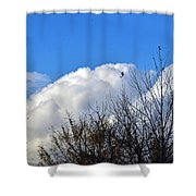 Autumn Sky 2 Shower Curtain