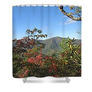 Autumn Smoky Mountains Shower Curtain