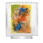 Autumn Song Shower Curtain