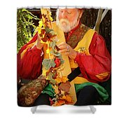 Autumn Spirit Shower Curtain