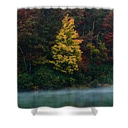 Autumn Splendor Shower Curtain by Shane Holsclaw