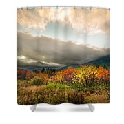 Autumn Storm Clearing Shower Curtain