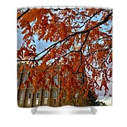 Autumn Temple Shower Curtain