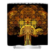 Autumn Tree Shower Curtain by Sandy Keeton