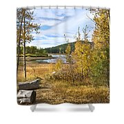 Autumn View At Spooner Shower Curtain