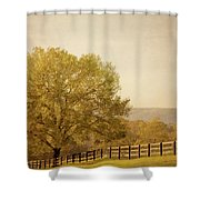 Autumn Wonders Shower Curtain