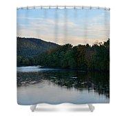 Autumnal Allegheny Shower Curtain