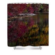 Autumns Color Pallette Shower Curtain