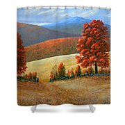 Autumns Glory Shower Curtain