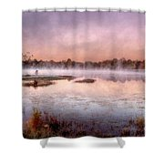 Autumns Light Shower Curtain