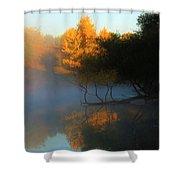 Autumn's Mist Shower Curtain
