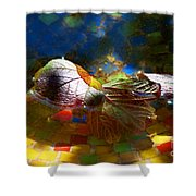Autumns Mosaic Shower Curtain
