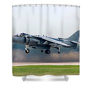 Av-8b Harrier Shower Curtain