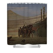 Ave Caesar Morituri Te Salutant , 1859 Shower Curtain
