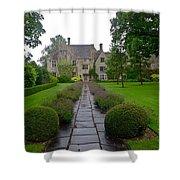 Avebury Manor House Shower Curtain
