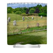Avebury - Sw Quadrant Shower Curtain