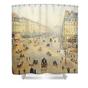 Avenue De L'opera In Paris Shower Curtain