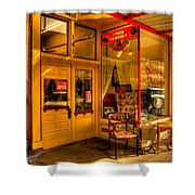 Aviance Antiques Prescott Arizona Shower Curtain by David Patterson