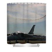 Aviation History Shower Curtain