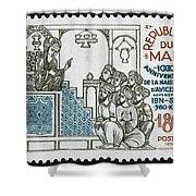 Avicenna, (ibn-sina) Shower Curtain