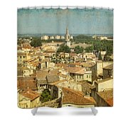 Avignon From Les Roches Shower Curtain