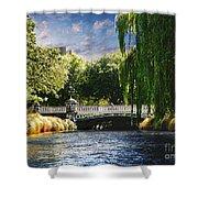 Avlon River Shower Curtain