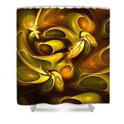 Avocado Fantasy Shower Curtain