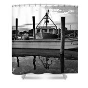 Avon Harbor Bxw 7/26 Shower Curtain