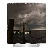 Avon Harbor Storm 7/12 Shower Curtain
