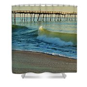 Avon Pier 7 10/31 Shower Curtain